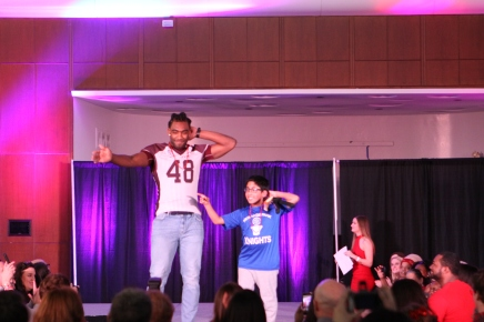 Student Athletes, Olympians Strut the Catwalk at Red Out Fashion Show